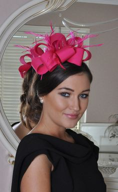 Julie Pink 2 Fascinator