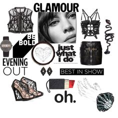 Best in show!!! by zabead on Polyvore featuring мода, Iris van Herpen, Bally, Andreia Chaves, Lulu Guinness, VOJD Studios, Christian Koban, Luxury Fashion, Anna e Alex and WALL