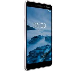 Telefon mobil Nokia 6.1, Dual SIM, 32GB, 4G, White - aluminiu 100% + Corning Gorilla Glass 3 + reducere 33% Galaxy Phone, Samsung Galaxy, Nokia 6, Dual Sim, Google, Sims, The 100, Glass, Drinkware