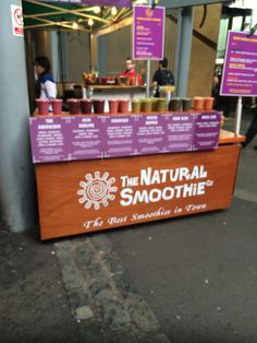 Smoothies- New trend / On the go food