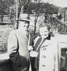 """Harold Foster and Gretchen Elizabeth """"Gertrude"""" Bruner"""