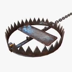max animal trap Ranger Dnd, Cartoon Smoke, Bear Trap, Lol Champions, Game Props, The Evil Within, Good And Evil, Fantasy Weapons, Pretty Black