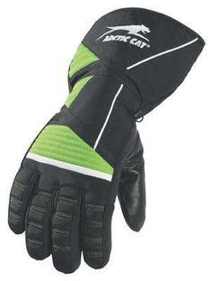 Arctic Cat Youth Catpaw Gloves New Green 5232 08 Ecklund Motorsports $14.98