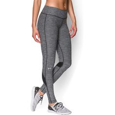 Under Armour Women's Fly-By Textured Legging (Black)