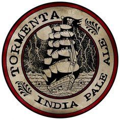 Cerveja Tormenta IPA, estilo India Pale Ale (IPA), produzida por Tormenta, Brasil. 6.8% ABV de álcool.