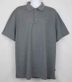 A Greg Norman for Tasso Elba Play Dry golf shirt would be perfect to wear on the course, or off.