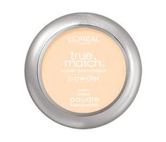 True Match Powder precisely matches your skin's tone and texture and coordinates perfectly with True Match Makeup, Blush and Concealer. Micro-fine powder provides versatile coverage: you can blot shine, blend for a natural finish, or build for more coverage. True Match Powder's formula now contains a hint of pearl pigments that enhance your skin's tone.Wear True Match Powder over True Match Makeup or alone for a flawless look.Available in 8 skin-tone shades.