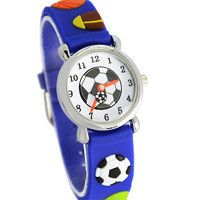 Supply Waterproof Kids Watches Silicone Wristwatches Football Brand Quartz Wrist Watch Baby For Girls Boys Fashion Casual Reloj Online Shop Watches