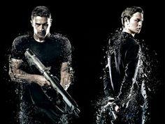 Four and Caleb :) CooooL :)) Insurgent Movie, Jon Snow, Badass, Eye Candy, Movies, Fictional Characters, Jhon Snow, Films, John Snow