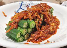 Nasi Lemak, Malaysian Food, Red Sauce, Tamarind, Okra, Cooking Oil, Sauce Recipes, Japchae, Homemade