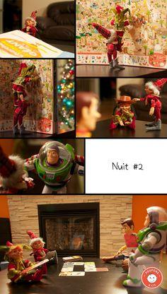 "Great ""Elf on the shelf"" ideas !"