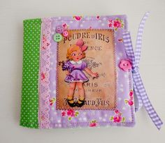 Vintage inspired Needle Book £5.00