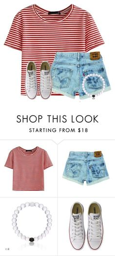 """""""Where's Waldo?"""" by flroasburn ❤ liked on Polyvore featuring WithChic and Converse"""