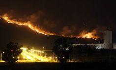 Combaten incendio en el Bosque La Primavera de la Venta - https://www.notimundo.com.mx/estados/incendio-bosque-la-primavera/
