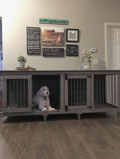 Double Doggie Den | B&B Kustom Kennels