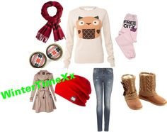 """""""wintertime"""" by angelface143 ❤ liked on Polyvore"""