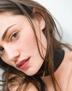 Our friend @phoebejtonkin shot by @tomtakesphotoss wearing Stretch Concealer in Medium Boy Brow in Brown and Generation G in Crush. Styled by @ilona_hamer  by glossier