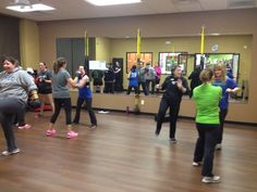 "Pink Gloves Boxing class are always a big ""HIT"" with Personal Trainer Luci.  #pinkglovesboxing #empowerment"