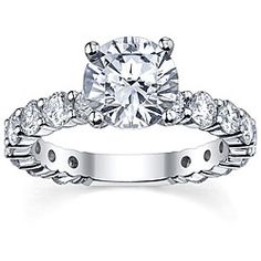 @Overstock - Round diamond engagement ring14-karat white gold jewelryClick here for ring sizing guidehttp://www.overstock.com/Jewelry-Watches/14k-White-Gold-1-5-8ct-TDW-Diamond-Engagement-Ring-G-H-SI1-SI2/5677983/product.html?CID=214117 $4,408.99