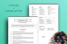 Clemente Resume Template by Projectile on Resume Tips, Resume Cv, Resume Writing, Resume Design, Resume Examples, Simple Cv Template, Modern Resume Template, Creative Resume Templates, Keynote Template