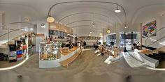 Virtual tour of EMA espresso bar