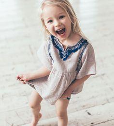 ストライプ&刺繍ブラウス-ベビーガール (3ヶ月- 3歳)-NEW IN | ZARA 日本