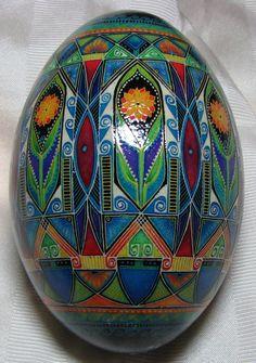 rhea egg, batik, Mark E Malachowski