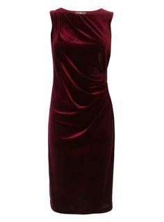 Lush Red velvet dress