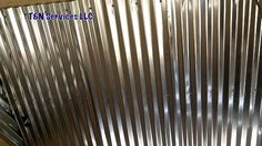 Chicken Coop - - Corrugated Metal Ceiling Install Building a chicken coop does not have to be tricky nor does it have to set you back a ton of scratch. Corrugated Tin Ceiling, Corrugated Roofing, Corrugated Metal, Galvanized Metal, Metal Deck, Metal Shed, Metal Roof, Roof Ceiling, Metal Ceiling