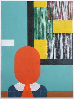 Benjamin Badock, Aufstellung - Museum, 2014, Hochdruck | THALER