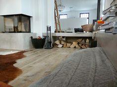 LifeBoXX - Microtopping Beton Floor Farbe-Nr. 18 (50%) - Küchen & Flurboden, Arbeitsplatte, Kamin mit Sitzecke in Betonoptik, Seidenglanz - Dez. 2013 - Ausführung: Dirk Backes aus Trier & S. Freund wand-wohndesign-beton-cire