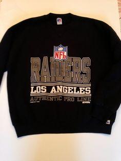 Vintage Russel Athletic Los Angeles Raiders Crewneck size XL on Etsy, $28.00