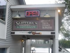 Slippery's Bar and Ristorante in Wabasha, MN. Featured in the Grumpy Old Men movies.