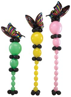 #305 - Butterflies in Flight - This simple design is full of profit and beauty with easy-to-use LINK-O-LOON®.