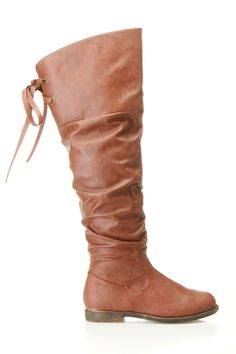 Tie Back Boot! I have these yay in a lighter color =}