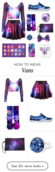 """I'm bored"" by foxmarnaya on Polyvore featuring Vans and Eos"