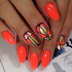 Яркий летний маникюр 2016 фото подборка идеи дизайн ногтей   Модная мода