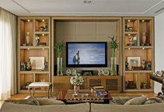 decoração sala TV