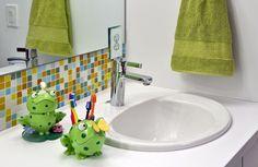 Cómo decorar un baño para niños. Algunos consejos prácticos...