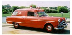 1954 Henney Packard Ambulance