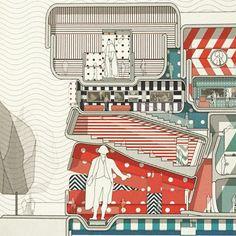 nexttoparchitects #arquitectura #dibujos #secciones