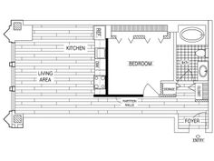 1 Bedroom, 1 Bath Floor Plan of Property Fisher Building City Apartments.  Fisher Building City Apartments, luxury apartment living in the Chicago Loop. Historic renovations with upscale studio, 1, 2, and 3 bedroom apartment homes.
