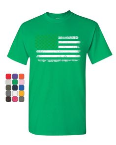 f92aefc58 St. Patrick's Day T-Shirts American Flag Stars, Mens Tee Shirts, Irish