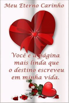 Meu eterno carinho... I Love You Images, New Year Images, Morning Greetings Quotes, Happy New Year 2020, Romance, Photos, Valentines, Words, Vida Real