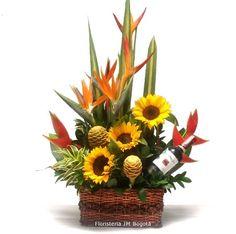 Arreglos florales para hombres en bogota on pinterest for Jardineros a domicilio bogota
