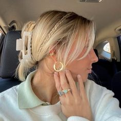 emmaasully | VSCO Summer Fashion For Teens, Teen Fashion, Fashion Outfits, Pretty Hairstyles, Easy Hairstyles, Hairdos, We Run The World, Hair Inspo, New Trends