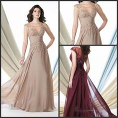 Champange Burgundy Prom Dress Long Formal Gown Mother of The Bride Dress E3988 on Made-in-China.com