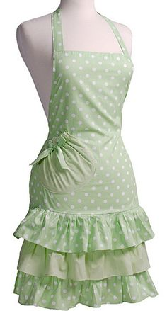 Eeep! I adore this!!! I would wear it all day long I think...I'd love it in a nice pink/black/white polka dot!