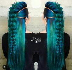 Love love love this! Mermaid viking turquoise