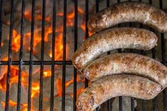 This homemade bratwurst recipe might be a project, but we're breaking it down into steps so it's easier than ever. Get this easy German sausage recipe here. Prosciutto, Bratwurst Sausage, Sausages, How To Make Sausage, Sausage Making, Bratwurst Recipes, Pork Recipes, Keto Recipes, Dinner Recipes